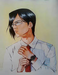 Ishida Uryuu by MistikRuki