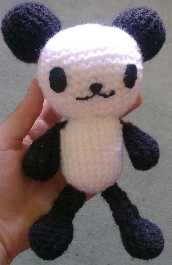 Panda Amigurumi by Pandannabelle on deviantART