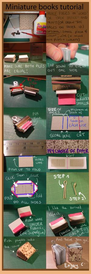 Mini books tutorials