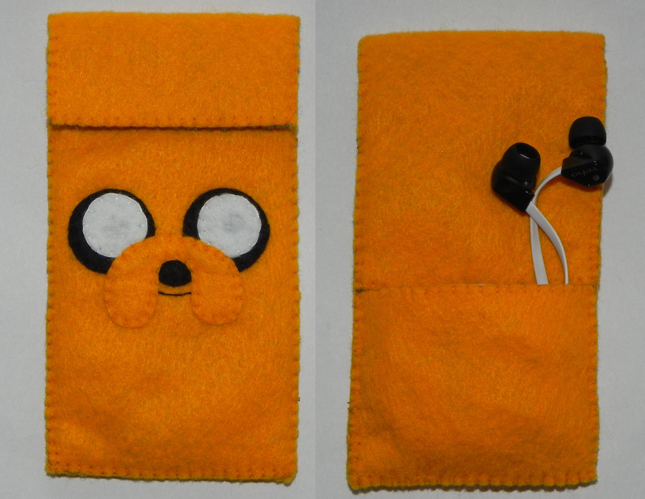 Jake the Dog phone pouch by Pandannabelle on deviantART