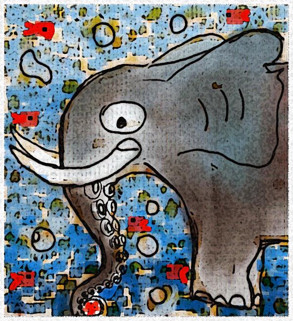 Elephantoctopus_in_the_water_by_darklua.jpg