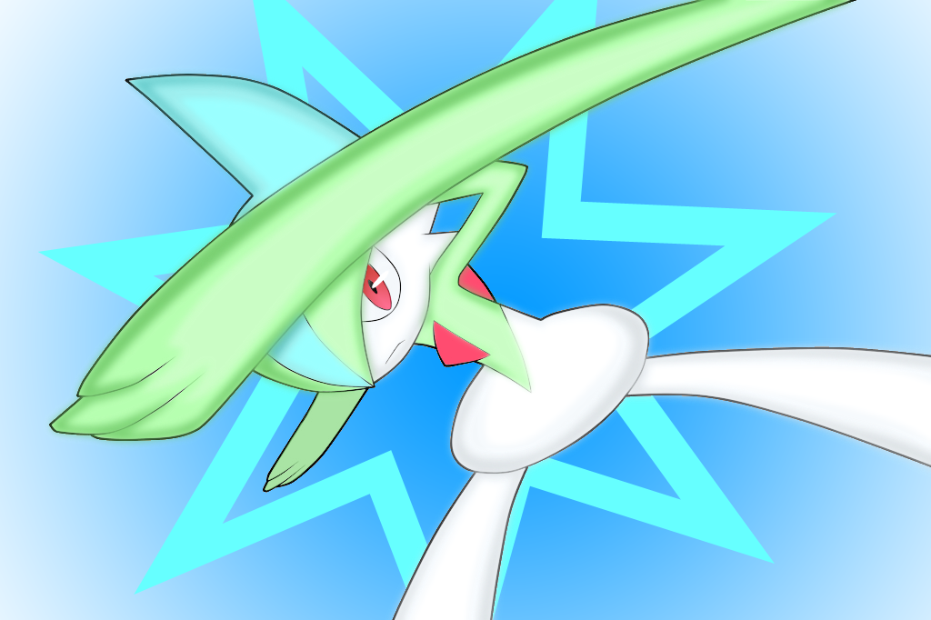 [Resim: Gallade_used_protect_by_cartoonboyplz.png]