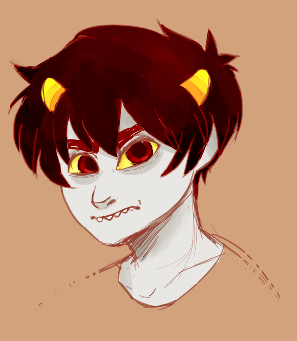[HOMESTUCK] Challenge - Day 3 - Karkat by kappakeki