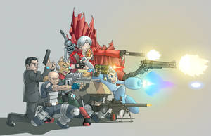 shoot 'em up by lost-tyrant