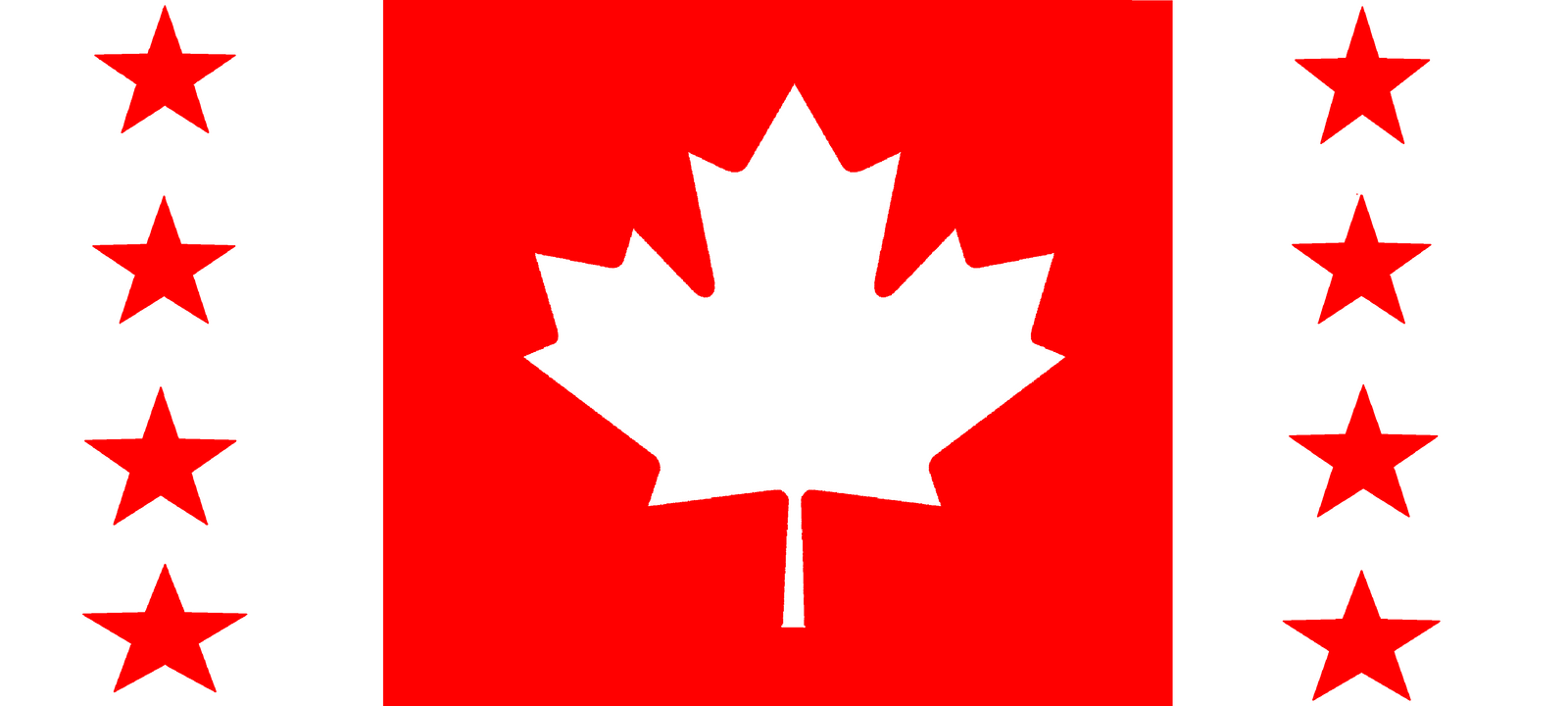 greater canadian republic flag by wolfmoon25 on deviantart