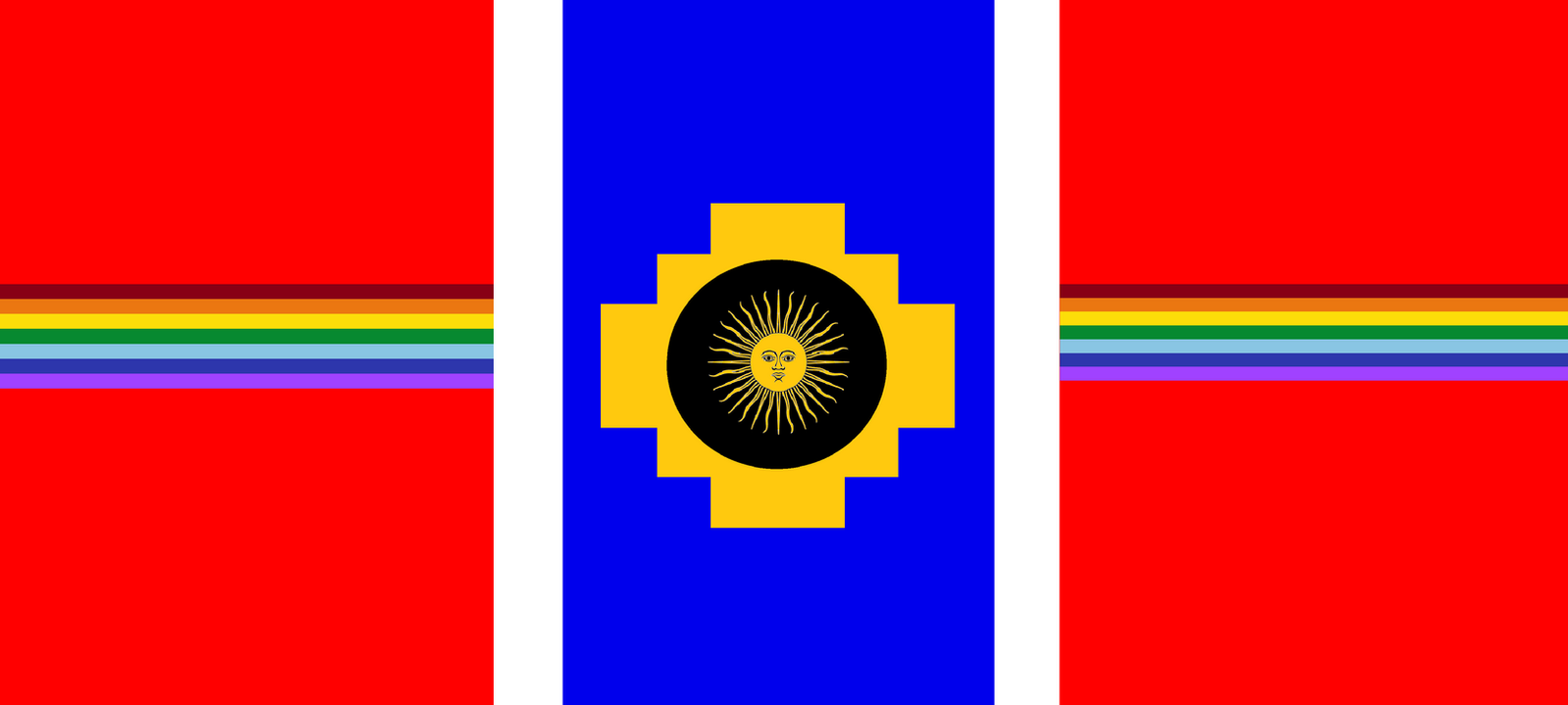 Flag of the Neo-Incan Empire by wolfmoon25 on DeviantArt