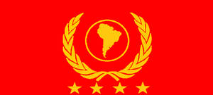 Flag of the Latin People's Federation (LPF)