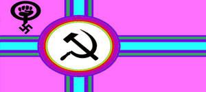 Flag of the Radical Progressive Kingdom of SJWs by wolfmoon25