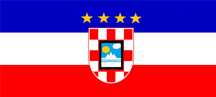 Flag of the Free State of Yugoslavia