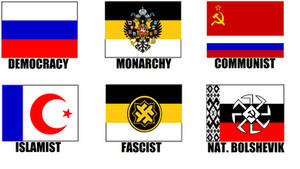 Alternate Flags of Russia