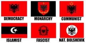 Alternate Flags of Albania