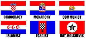 Alternate Flags of Croatia