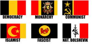 Alternate Flags of Belgium