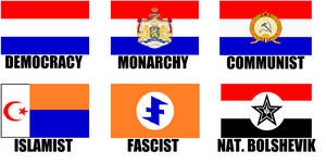 Alternate Flags of The Netherlands