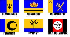 Alternate Flags of Barbados