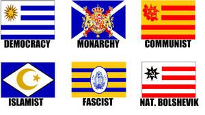 Alternate Flags of Uruguay