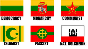Alternate Flags of Lithuania