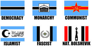 Alternate Flags of Botswana