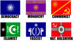 Alternate Flags of the Macedonian Empire by wolfmoon25