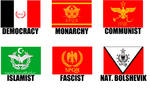 Alternate Flags of the Roman Empire by wolfmoon25