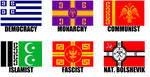 Alternate Flags of the Byzantine Empire by wolfmoon25