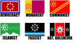 Alternate Flags of the Sioux Nation by wolfmoon25