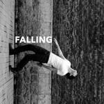 Falling.