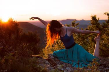Danse de l'heure bleue.