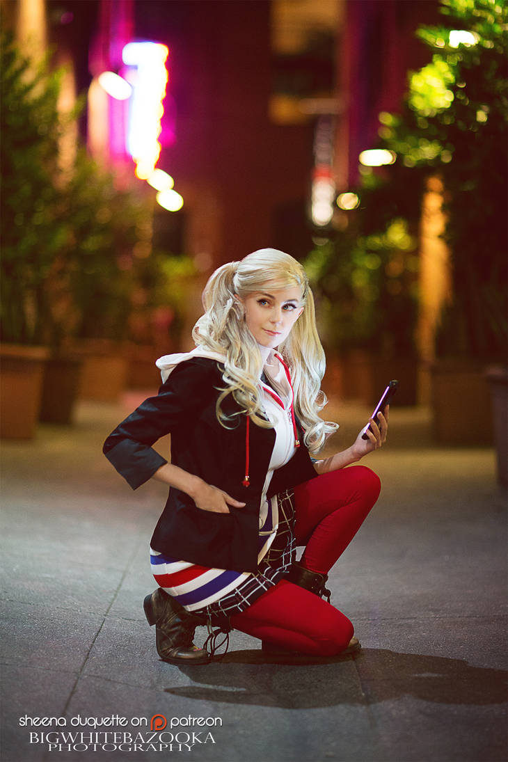 Ann Takamaki by sheenaduquette