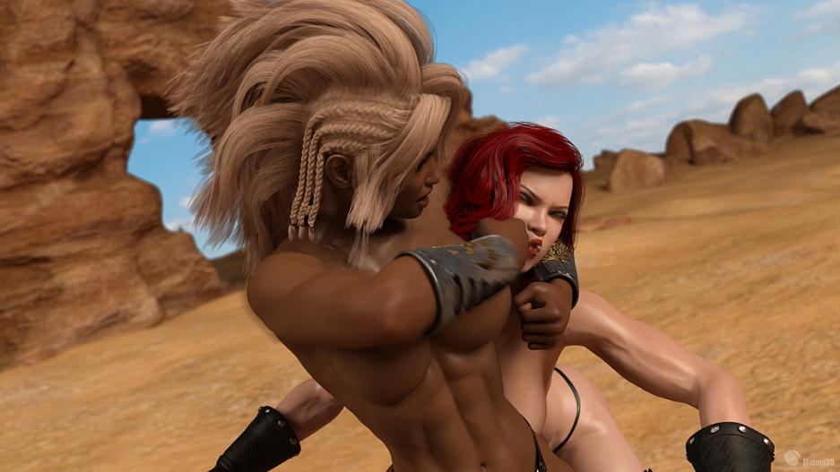 Barbarian Beatdown 1 by Excalib