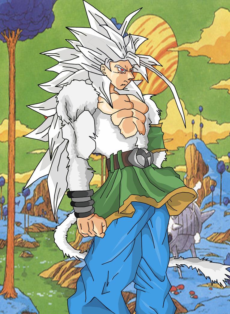Goku super saiyan 5 by luffy12356 on deviantart - Goku super sayan 5 ...
