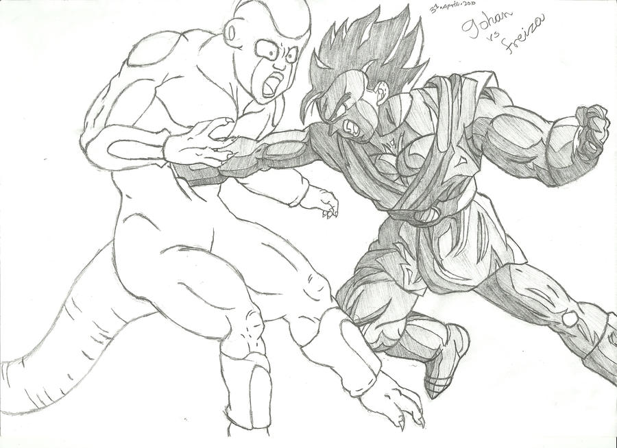 Gohan Vs Freiza Preview By Luffy12356 On DeviantArt