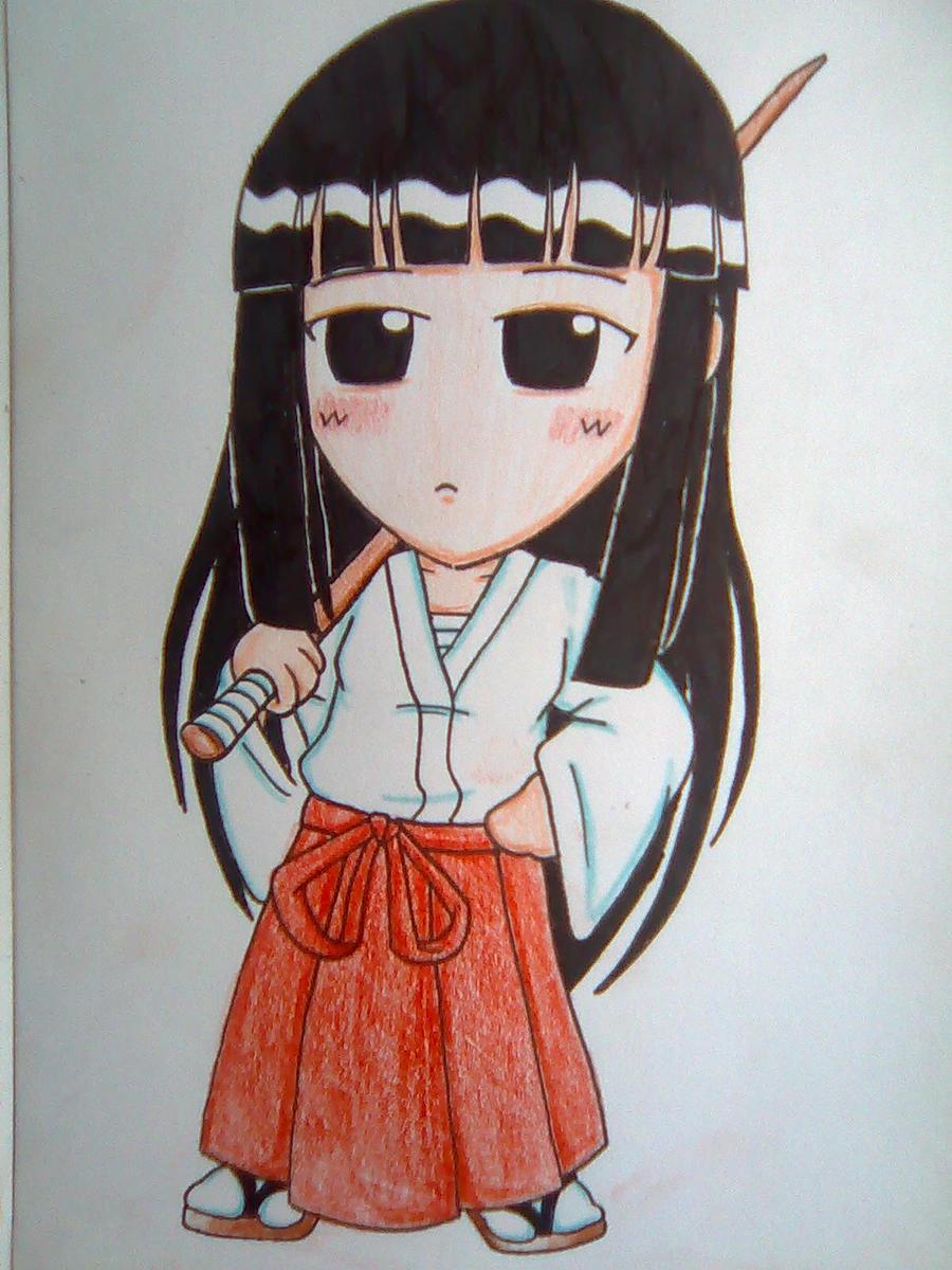 Kendo Girl Motoko Aoyama by beanystergates