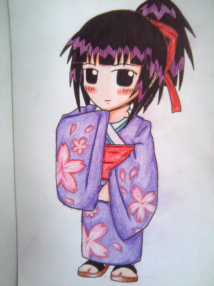 Kimono Girl Kanako Urashima by beanystergates