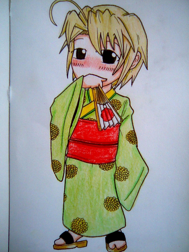 Kimono Girl Mitsune Konno by beanystergates