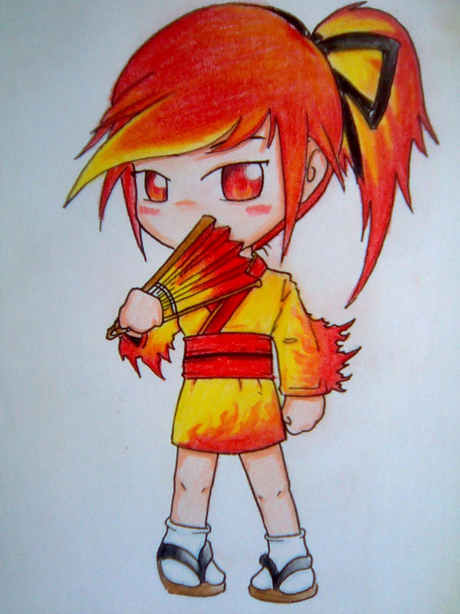 Gijinka Moltres by beanystergates on deviantART