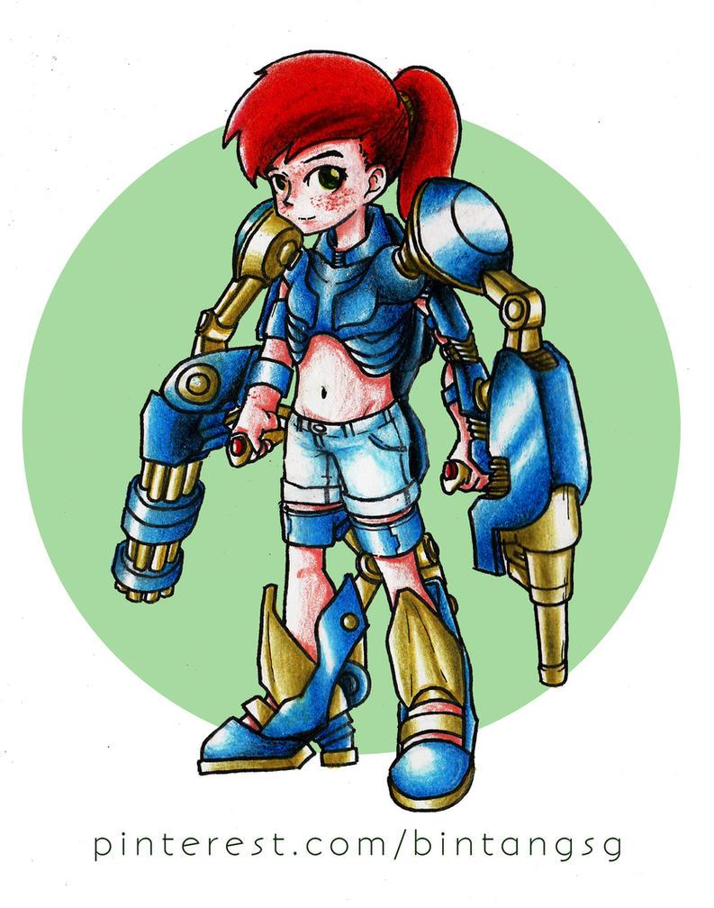 Fusilier Exoskeleton by beanystergates