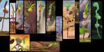 Bakora Staff Collage by LionGuardKujenga