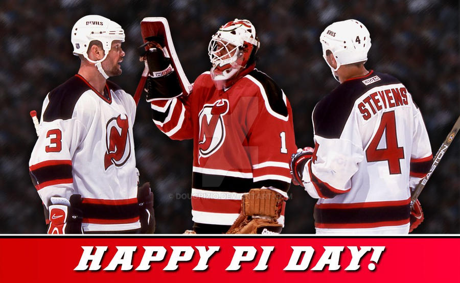 size 40 cddc2 270f1 NJ Devils - Happy Pi Day! by DougRizio on DeviantArt