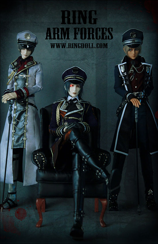 High-ranking officers of RD Army are coming soon 1 by Ringdoll