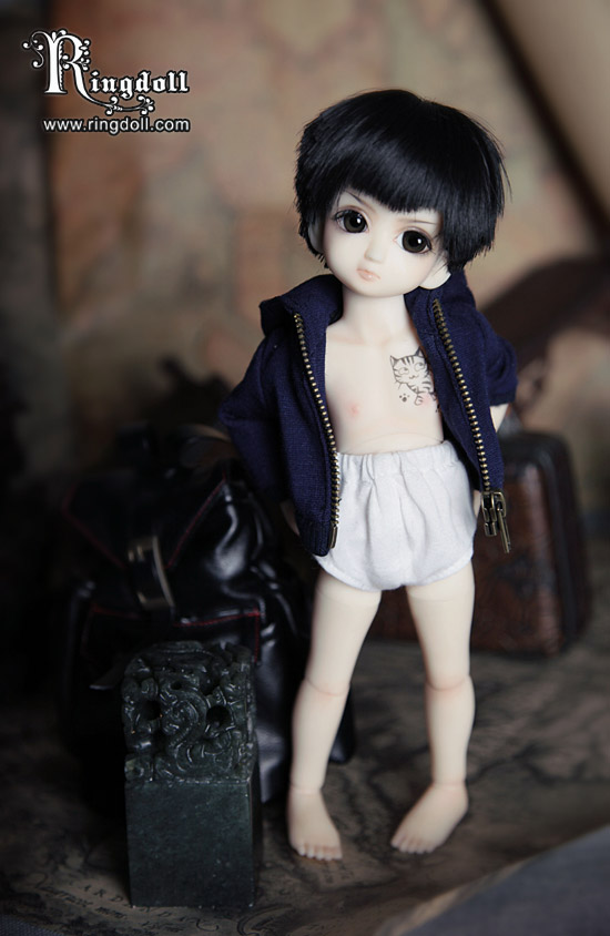 The first Ringdoll bb-Bobo1 by Ringdoll
