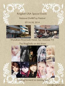 Ringdoll USA Special Event in San Antonio