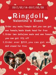 Ringdoll Valentine's Event