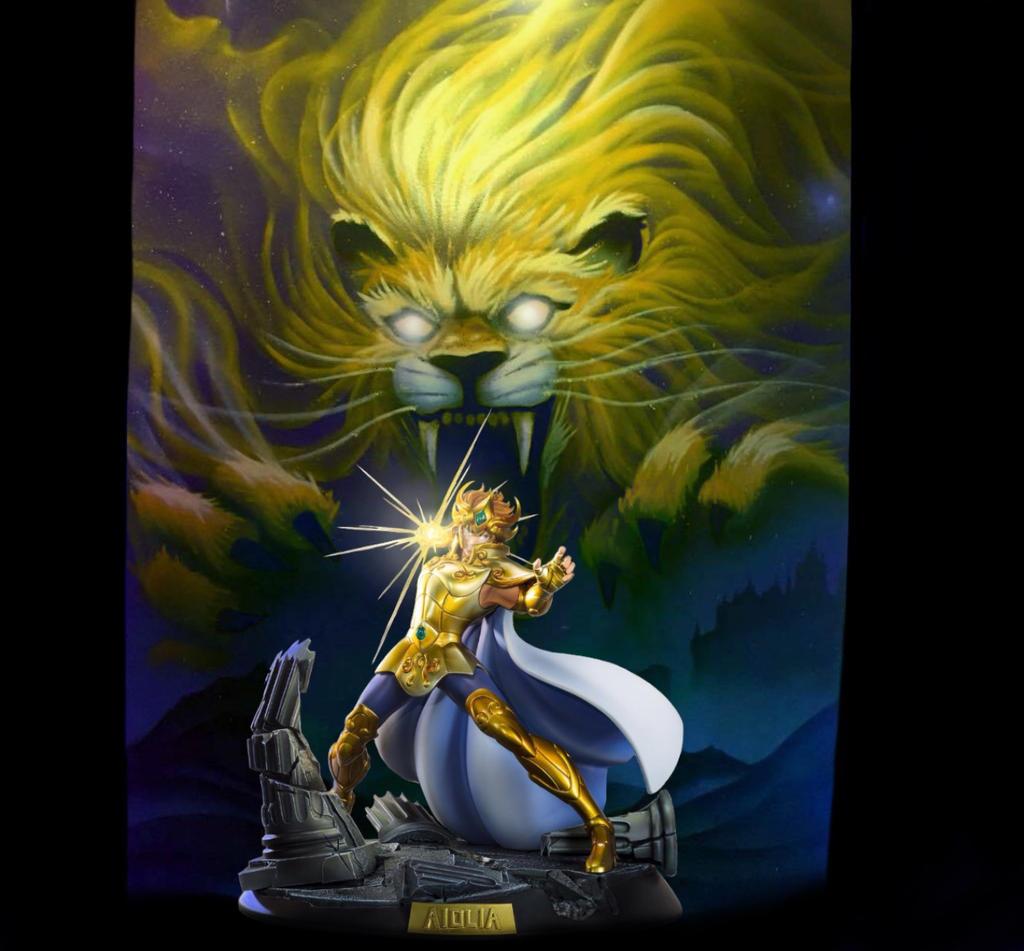 Aiolia Du Lion By 6mick On Deviantart
