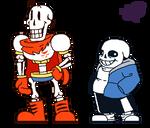 [Undertale] Tall Boner and Fat Boner