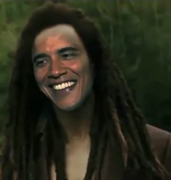 Afro Obama by Andrex231