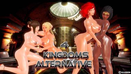4 kingdoms Alternate Story by CharlotteBlanche