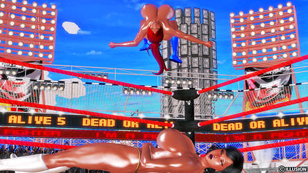 Super Busty Wrestling 3 by CharlotteBlanche