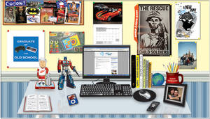 The Desk of Sean C. Sousa by lidstrom82
