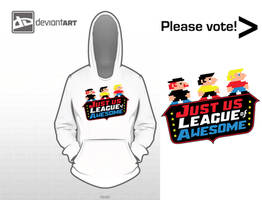 The Just Us League of Awesome! by lidstrom82